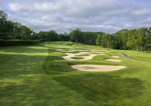 3rd hole, Fenway Golf Club