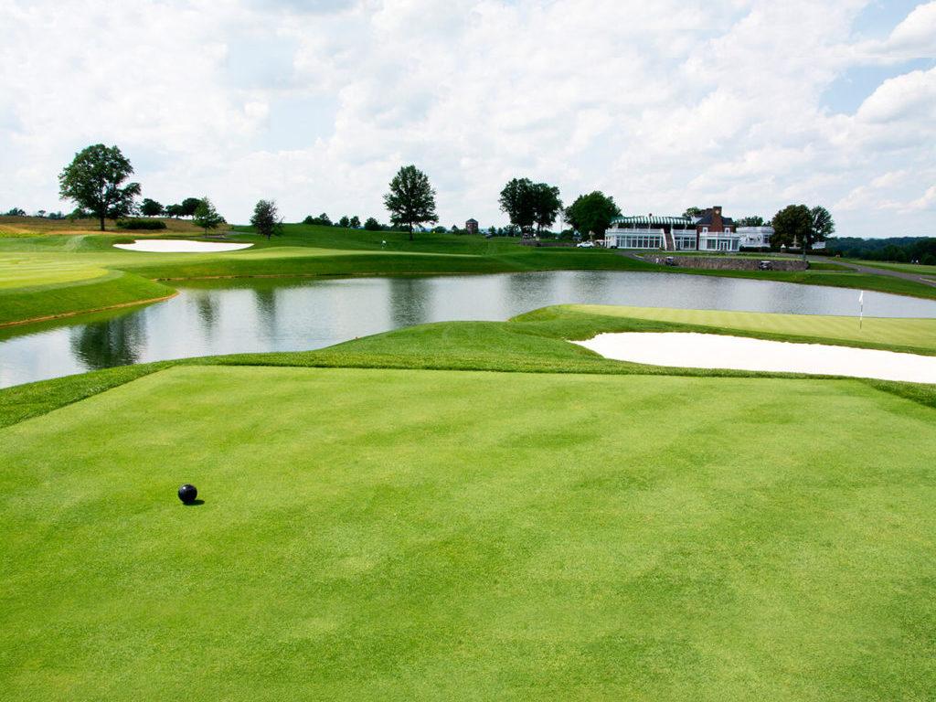 Trump National Golf Club — Bedminster — Holes #16, #17, #18