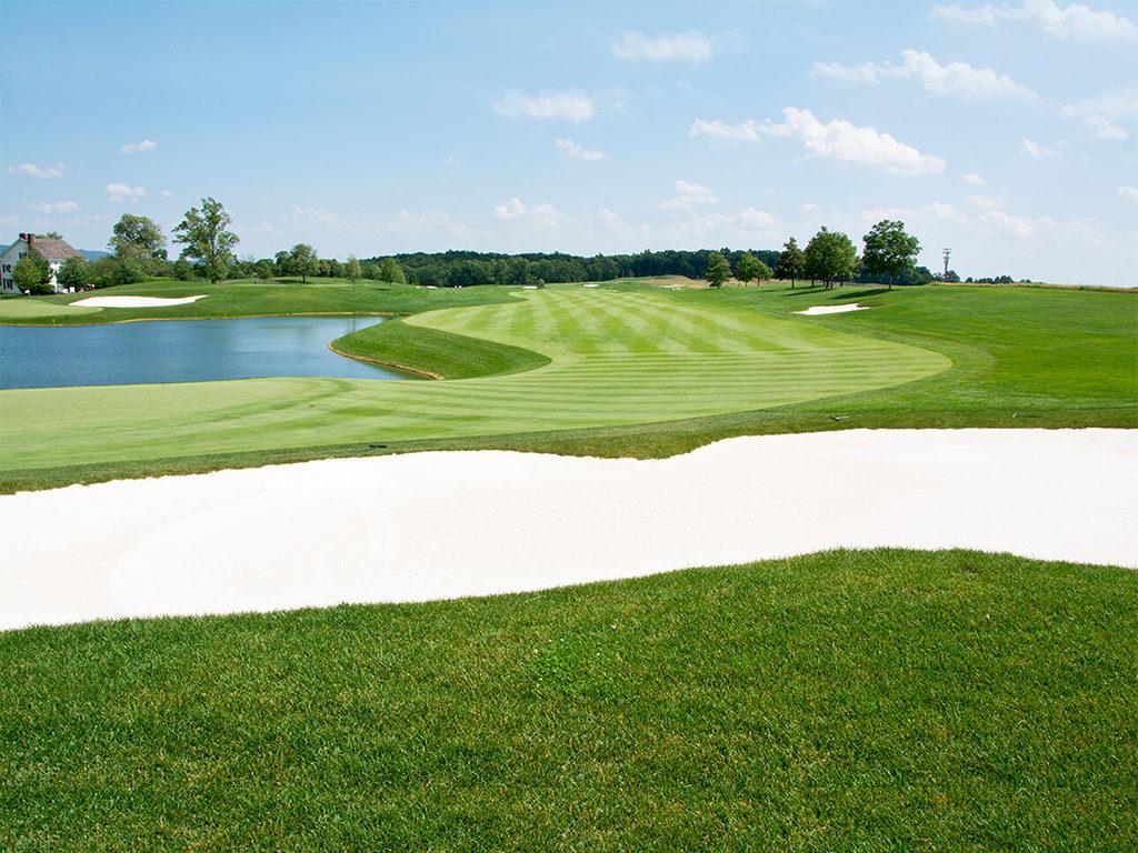 Trump National Golf Club — Bedminster — Hole #18