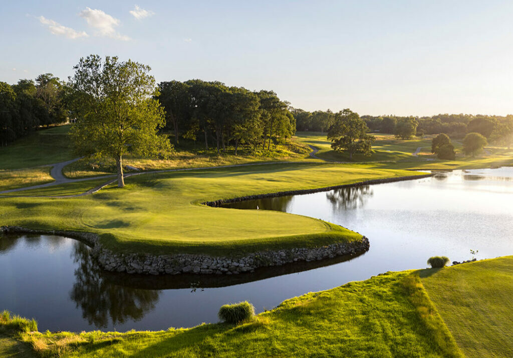 Westchester Country Club, South Course  —  Hole #13